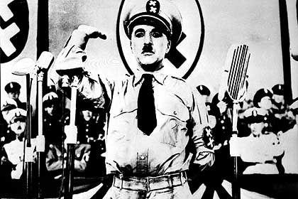 """Chaplin in """"Der große Diktator"""": Der US-Regierung moralisch nicht integer genug"""