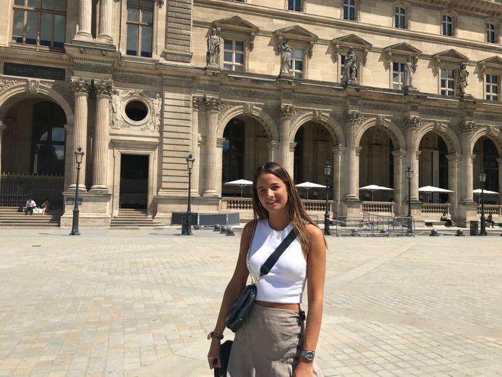 """Die 23-jährige Marta Grau aus Barcelona: """"Dort war kein Mensch"""""""