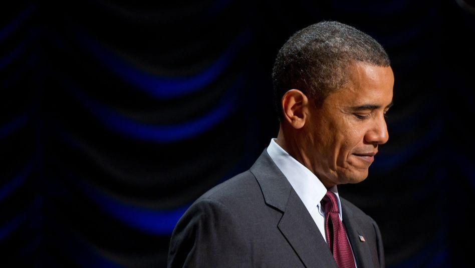 US-Präsident Obama: Rückschlag bei zentralem Projekt