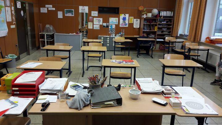 Klassenraum der 2. Chance