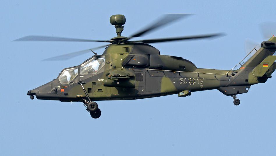 """Helikopter des Typs """"Tiger"""": Deutlich reduzierte Bestellung, kaum reduzierter Preis"""