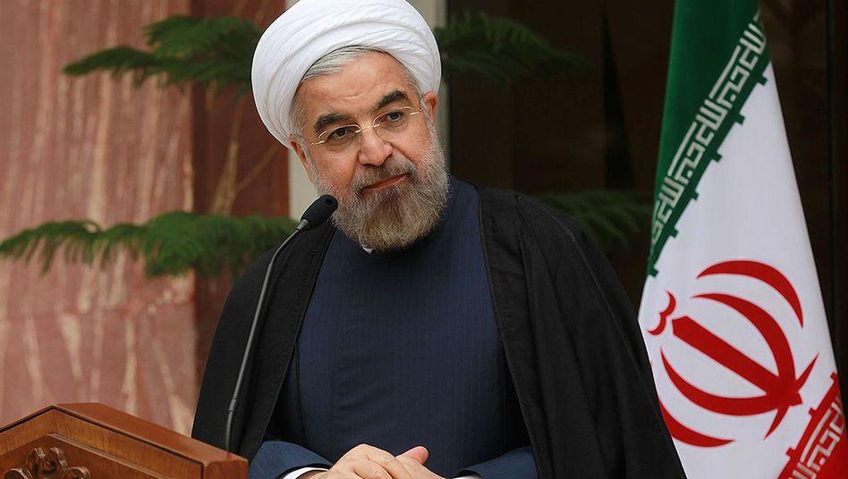 "Irans Präsident Hassan Rohani: Nein, ""zu 100 Prozent"""