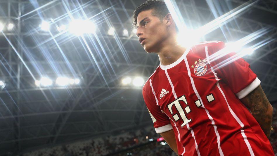 Neuer Bayern-Profi Rodríguez