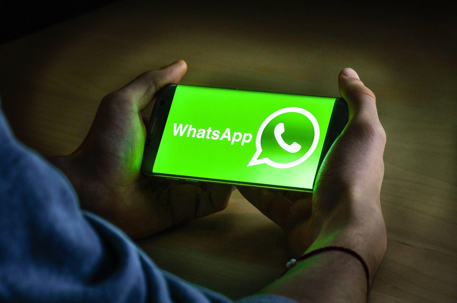 EINMALIGE VERWENDUNG Logo WhatsAppimago