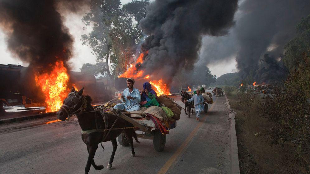 Dauerkampf am Hindukusch: Der Afghanistan-Krieg in Bildern
