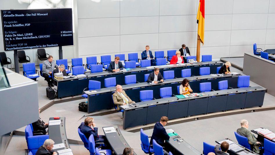 Aktuelle Stunde zur Wirecard-Insolvenz im Bundestag
