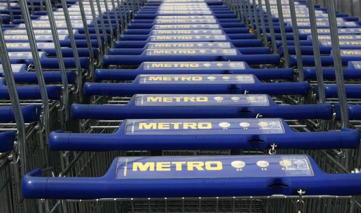 Metro-Einkaufswagen: Gespräche über große Warenhauskette abgebrochen