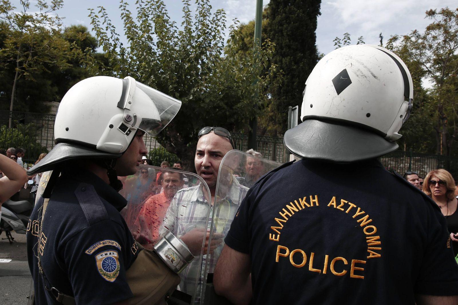 Griechenland / Finanzkrise / Streik
