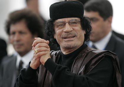 """Libyens Staatschef Gaddafi: """"Dankeschön"""" für Vermittlung"""