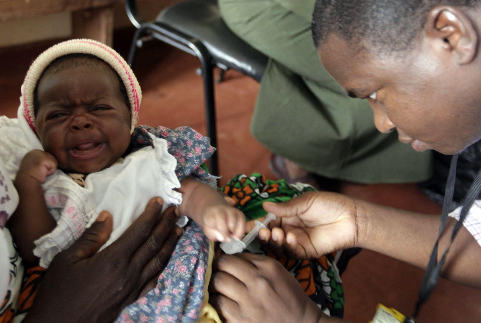 Malaria / Impfstoff / Kenya