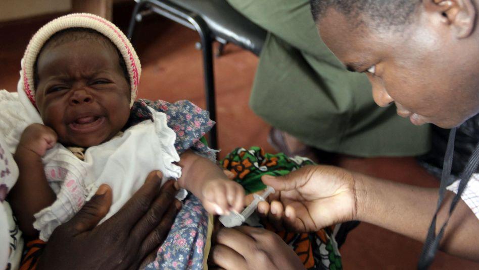 Impfstoff-Test in Kenia (2010): Milliarden Menschen wohnen in Malaria-Risikogebieten