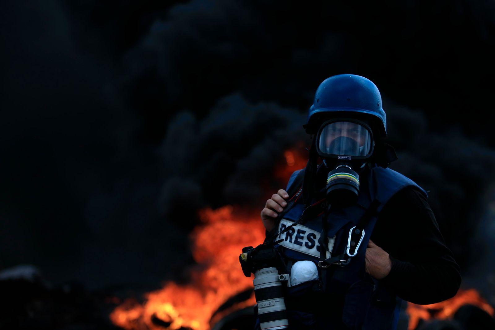 Proteste in den Palästinensischen Autonomiegebieten