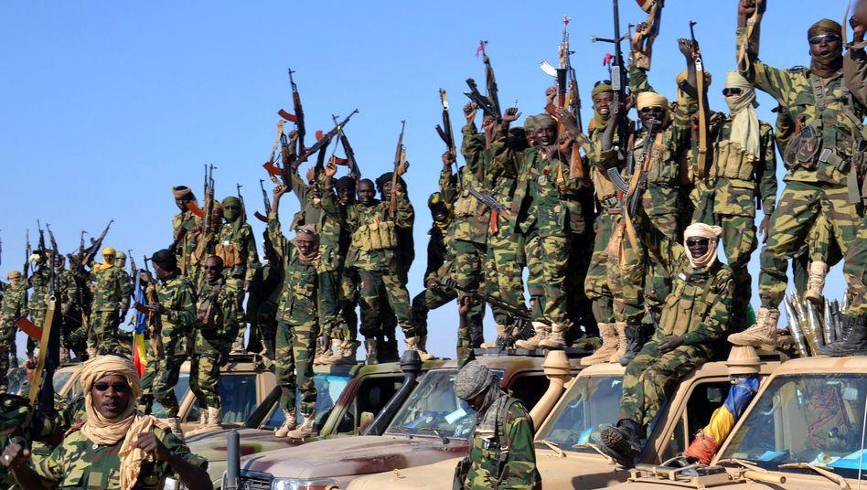 Tschadische Soldaten bei Gamboru: Offensive gegen Dschihadisten