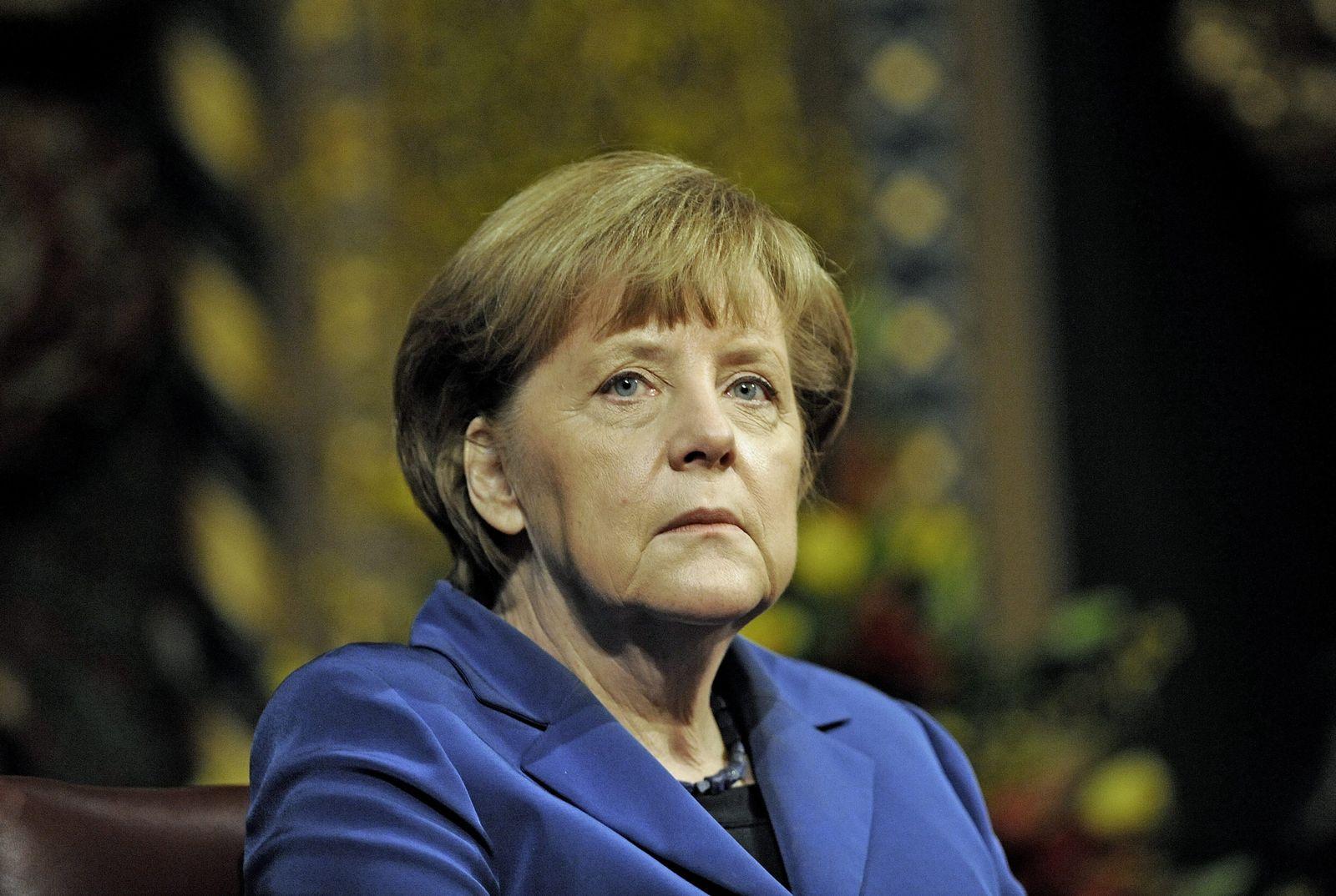 Angela Merkel in London