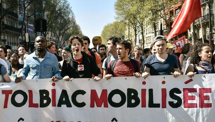 """Frankreich: """"Wie im Mai '68"""""""