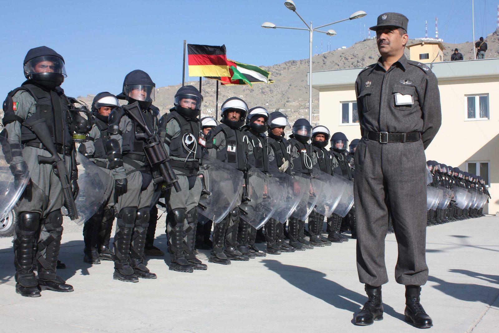 Afghanistan/ Polizei/ Ausbildung