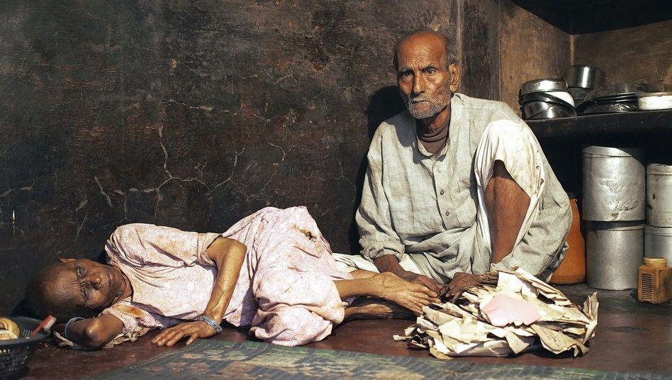 Gasopfer in Bhopal