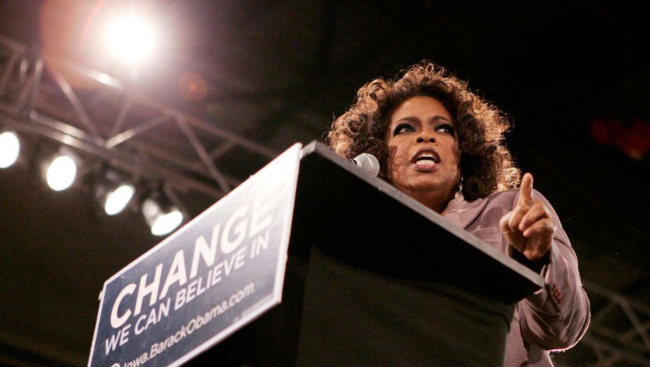 Mögliche Trump-Herausforderin Winfrey: Oprah for President?