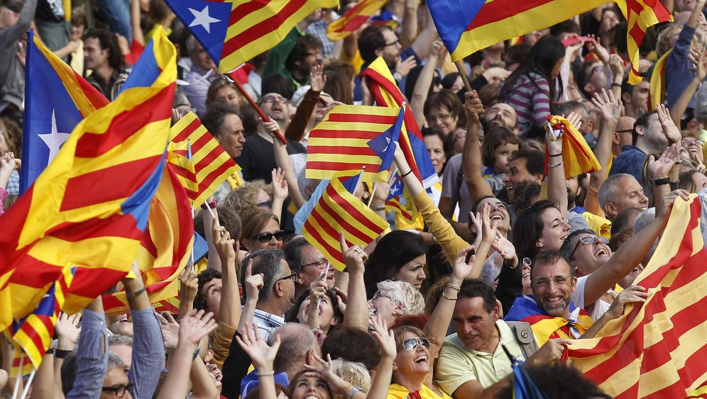 Photo Gallery: A Call for Catalonian Independence