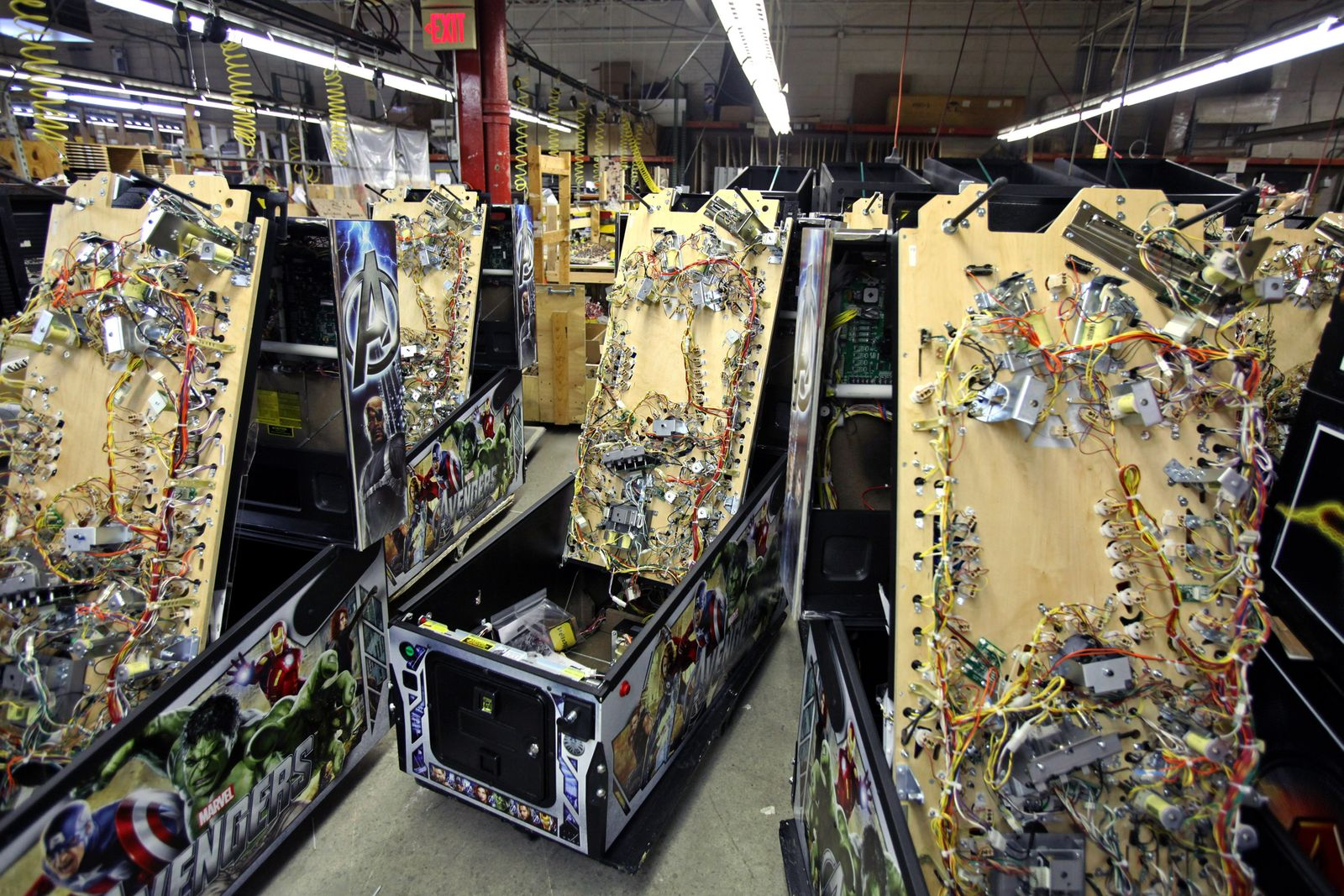 Operations Inside Stern Pinball Inc.'s Manufacturing Facility Ahead Of Durable Goods Data