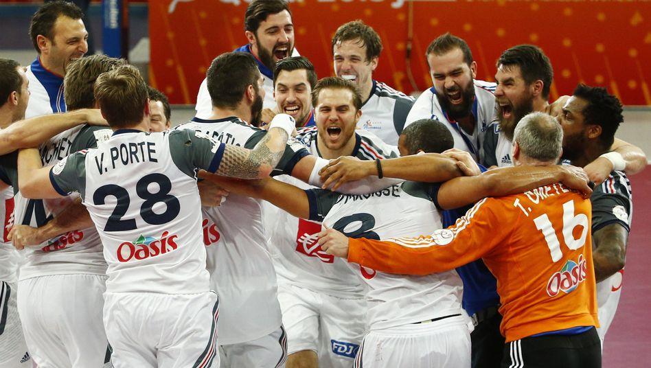 Handball-Nationalmannschaft von Frankreich: Finalsieg gegen Katar