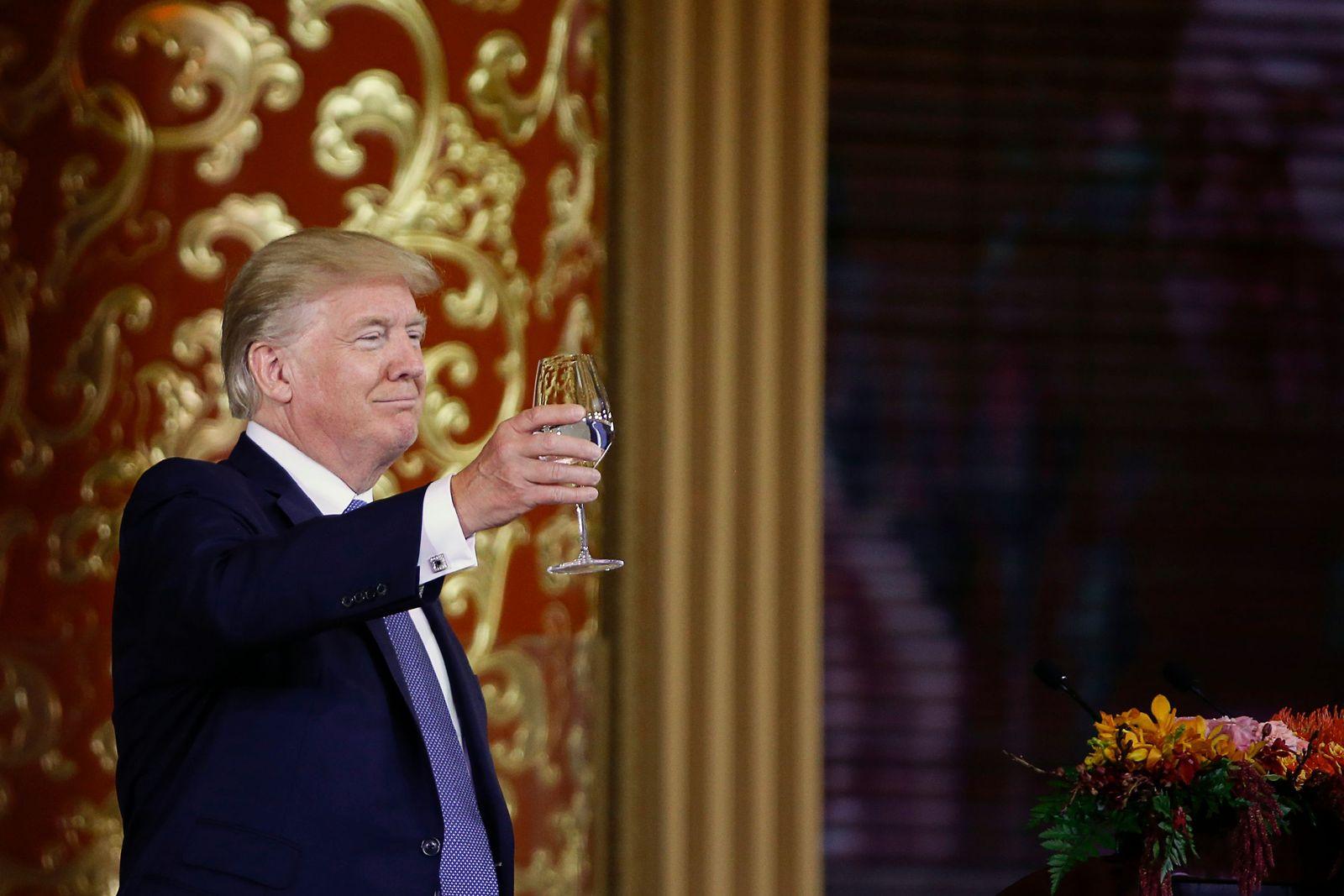 Donald Trump in China