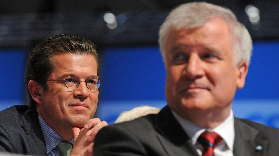 CSU-Chef Seehofer, Minister Guttenberg: Aufrichtigkeit, Ehrlichkeit, Anstand?