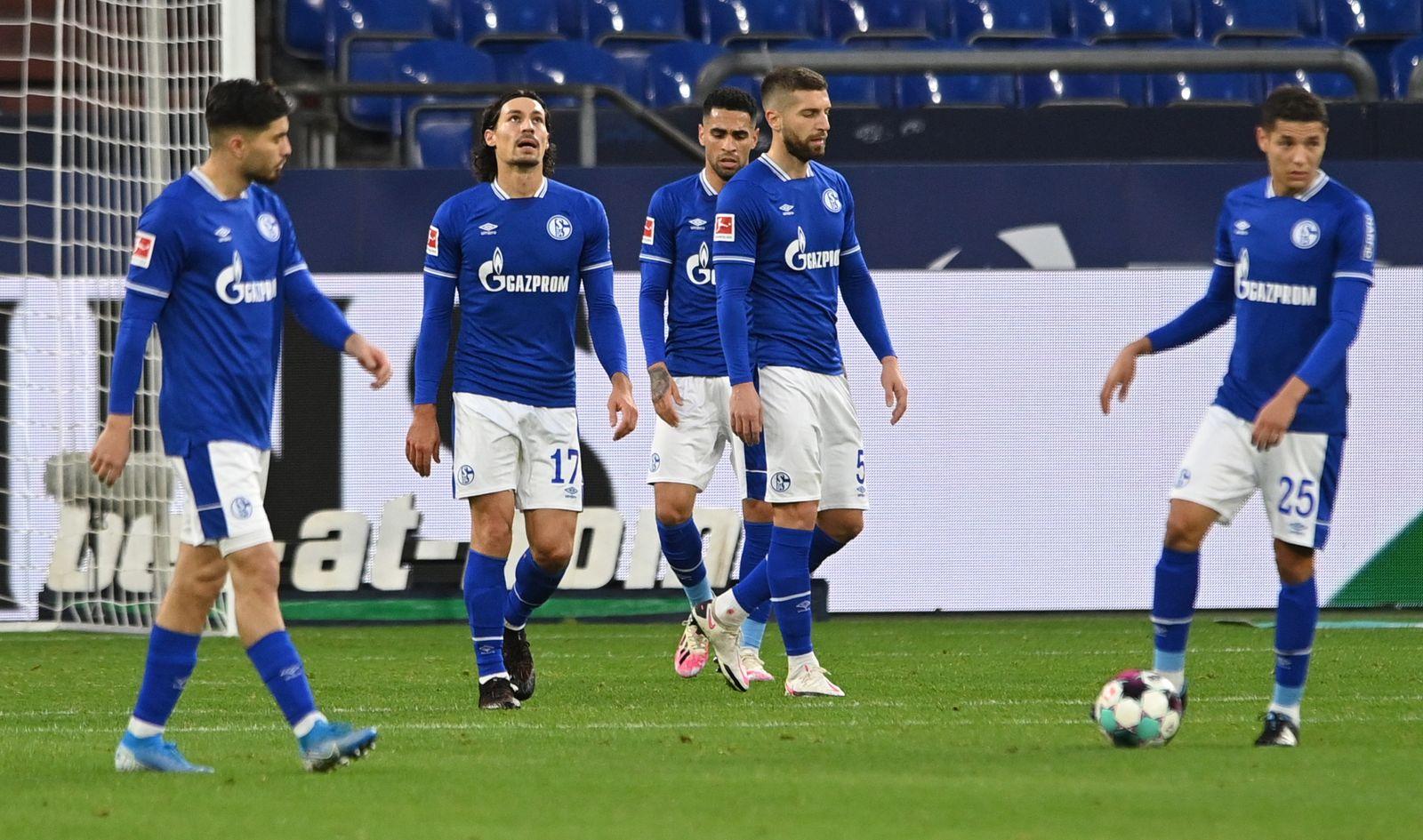 FC Schalke 04 vs. VfL Wolfsburg, Gelsenkirchen, Germany - 21 Nov 2020