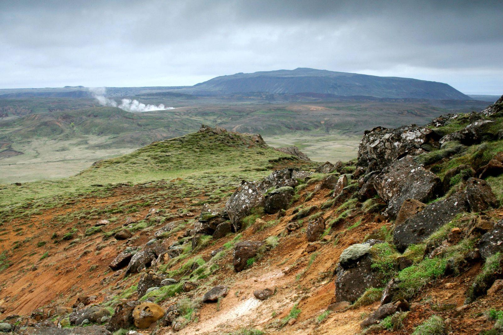 Vulkangebiet Krysuvik Island Krysuvik Krysuvik volcanic area Iceland Krysuvik BLWS541537 Copyrig