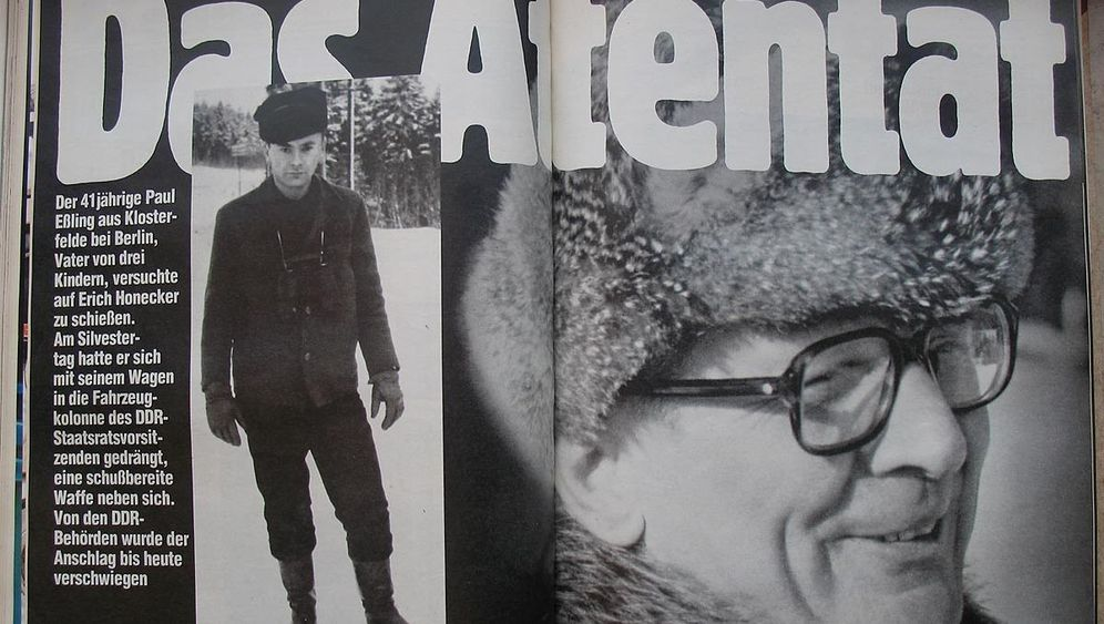 Schüsse an Silvester: Das Honecker-Attentat, das keins war