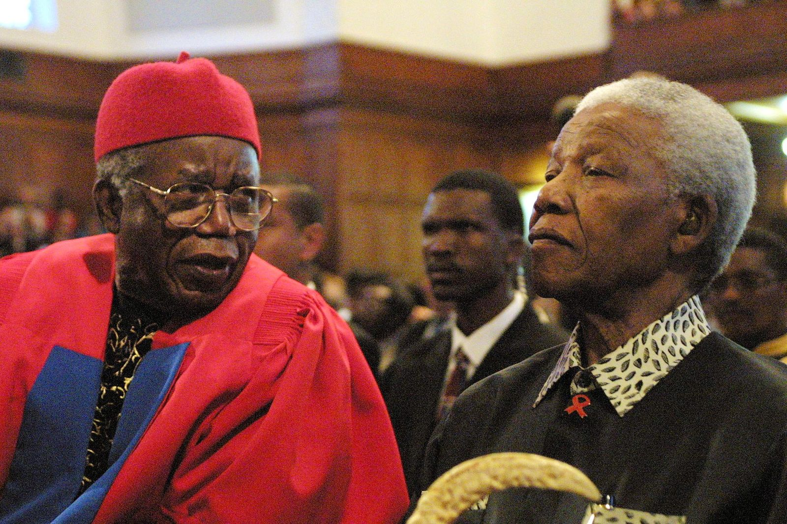 Chinua Achebe/ Mandela