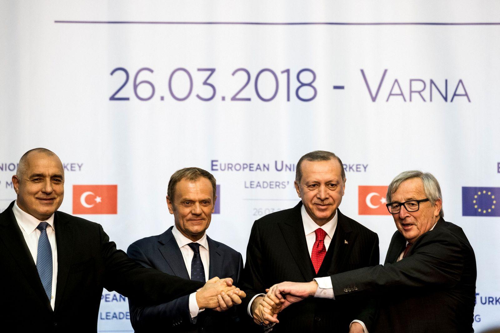 Tusk / Erdogan / Juncker