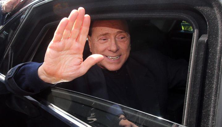 2013 verurteilter Steuersünder Silvio Berlusconi (Archivbild)