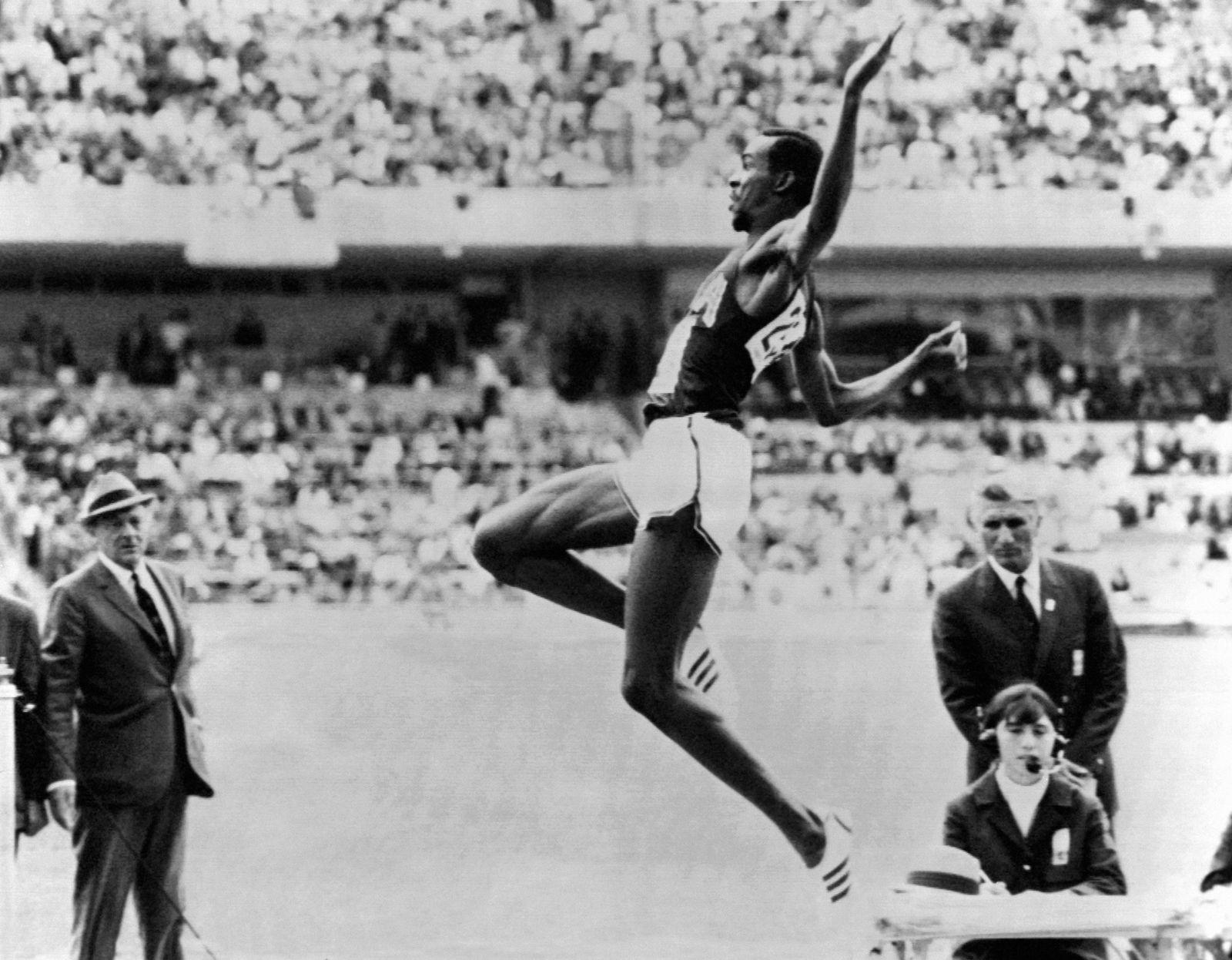 Bob Beamon / Olympische Spiele / Mexico / 1968