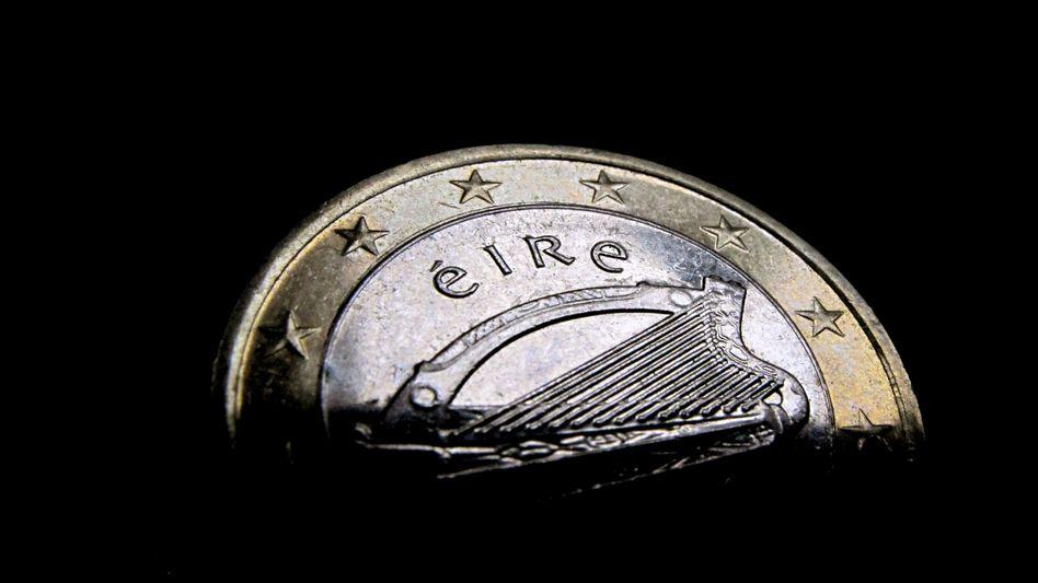 Irische Euro-Münze: Schulden doppelt gebucht