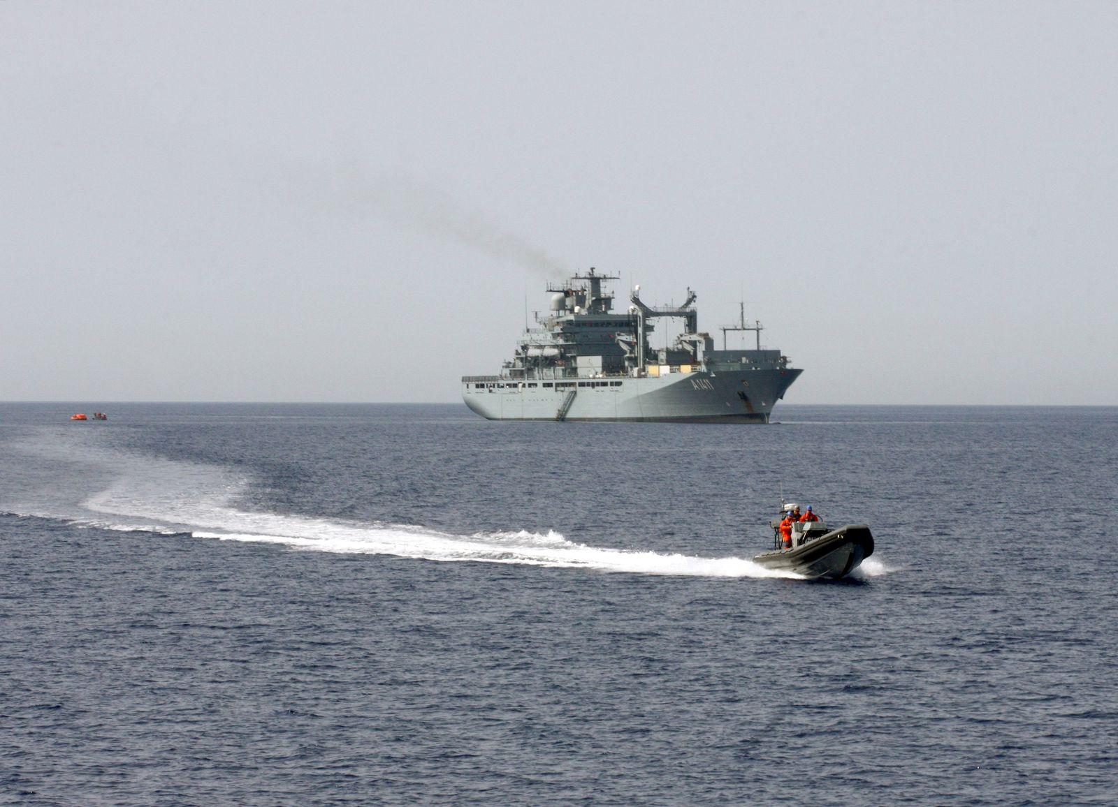 Deutsche Marine/ Mittelmeer/ Flüchtlinge