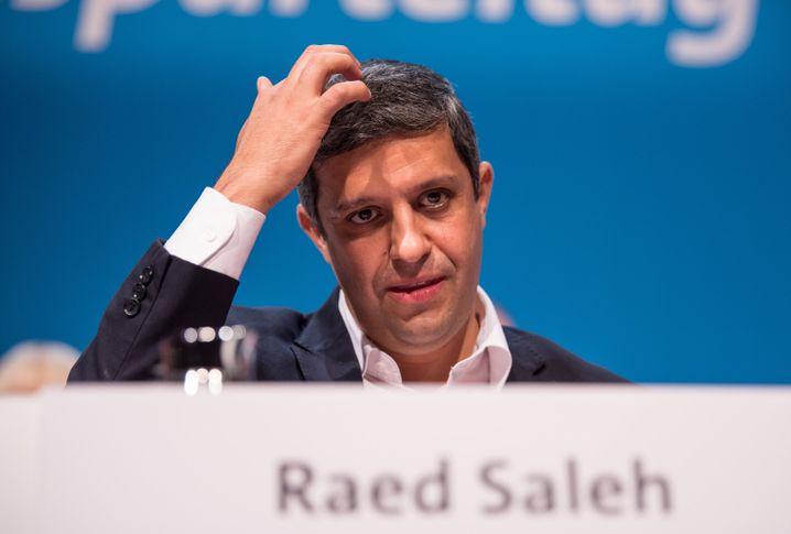 Berliner SPD-Fraktionschef Raed Saleh