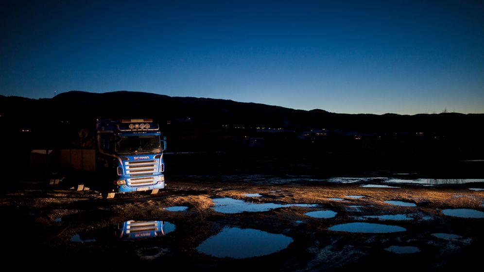 Zu Besuch bei Fernfahrern: My truck is my castle