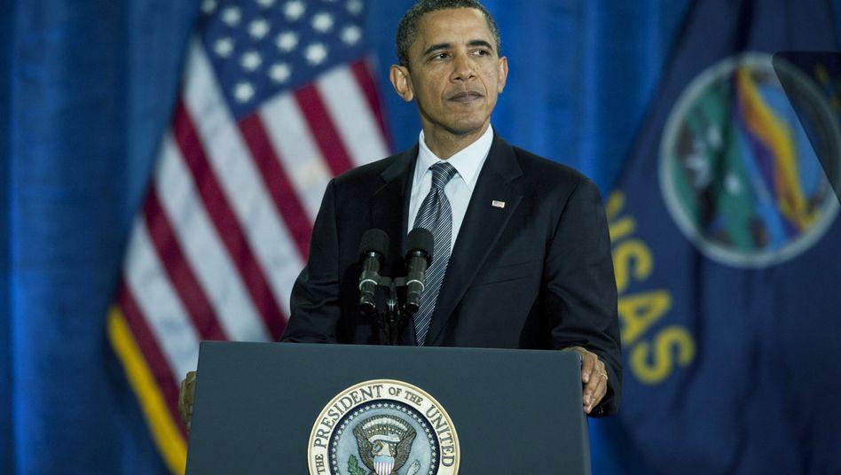 """US-Präsident Obama (Archivaufnahme): """"Diplomatie ist die bevorzugte Lösung"""""""