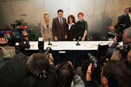 Die vier Abweichler: Nur Dagmar Metzger (l.) soll in der SPD bleiben dürfen