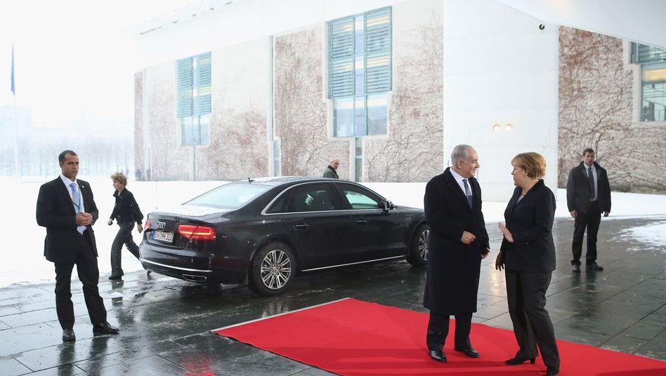 Netanjahu bei Merkel: Eine Freundschaft, die viel aushält