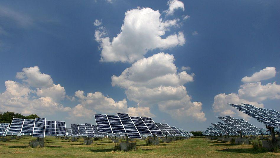 Anlage der SolarWorld AG bei Freiberg: Dumping-Vorwurf an die Chinesen