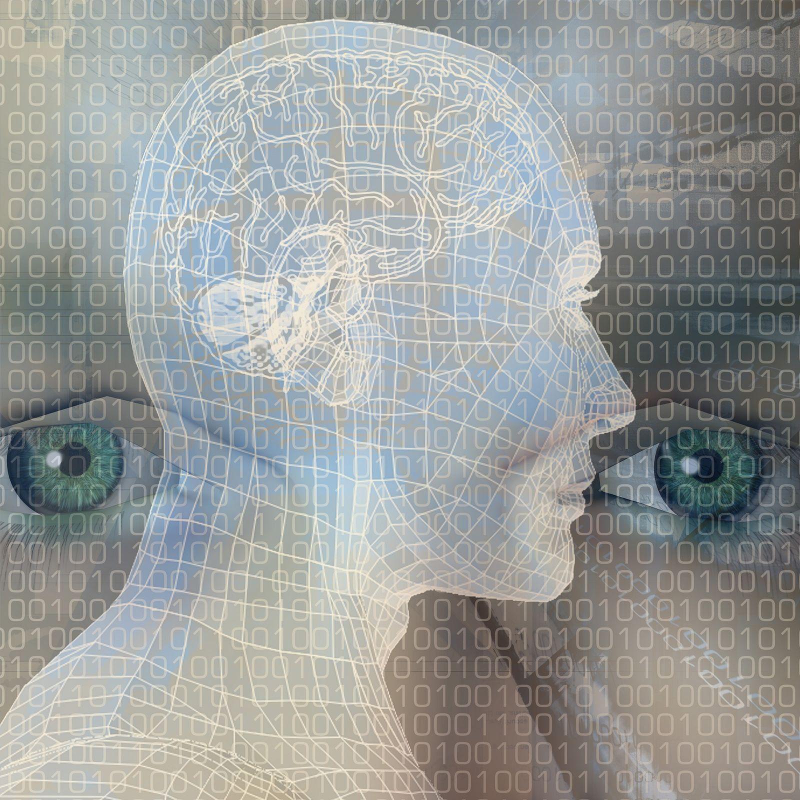 NICHT MEHR VERWENDEN! - Mensch / Gehirn / Geist / Computer / Entspannung / Wahrnehmung