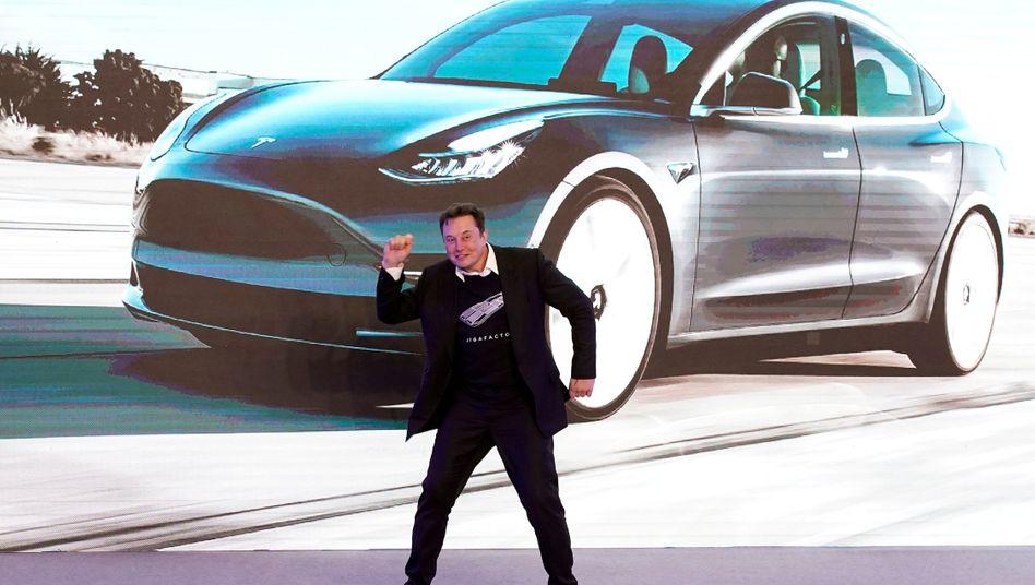 Elon Musk (im Janaur 2020)