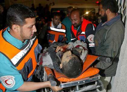 Opfer, Ärzte: Raketenbeschuss aus Kampfhubschraubern