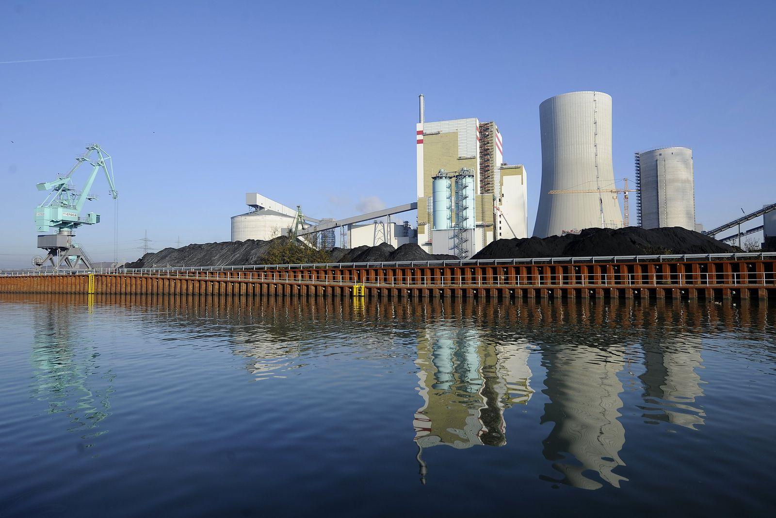 Kohlekraftwerk / Kraftwerk / Lünen / Trianel