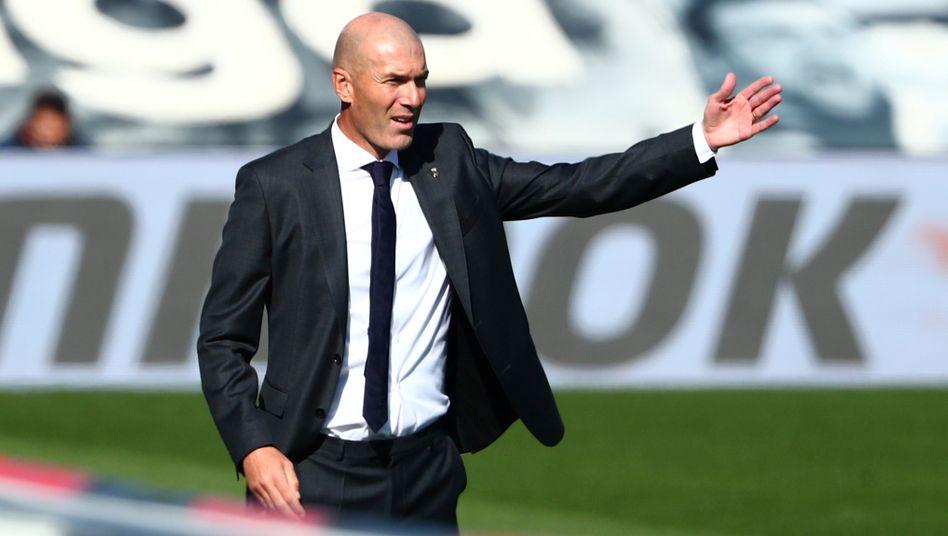 Angeschlagen, aber immer noch beliebt: Zinédine Zidane
