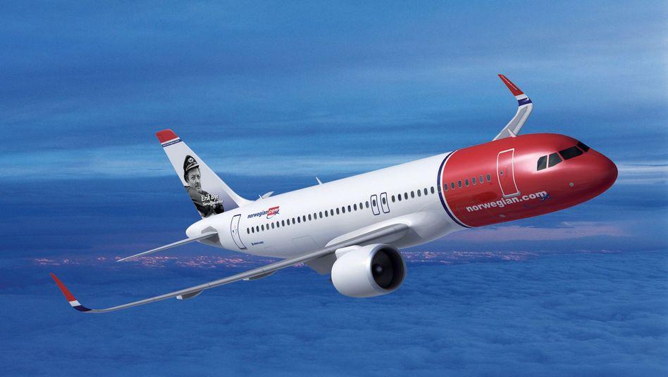 Norwegian Air Shuttle: Neuzugang im Mile High Club