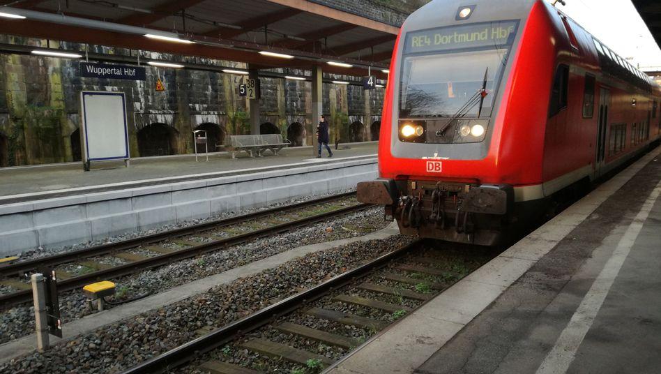 Bahnhof in Wuppertal