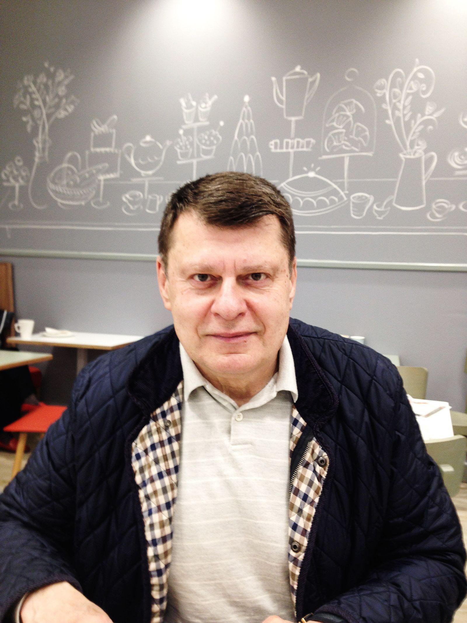 EINMALIGE VERWENDUNG Valery Morozov